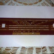 Radios antiguas: CRISTAL DE DIAL DE RADIO ANTIGUO. Lote 80633466