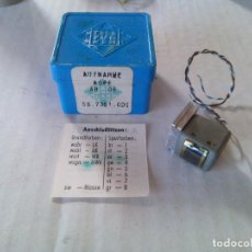 Radios antiguas: CABEZA DE GRABACION MAGNÉTICA TELEFUNKEN MODELO-AB08. RECORDING HEAD MAGNETIC TAPE AB08. Lote 80904632