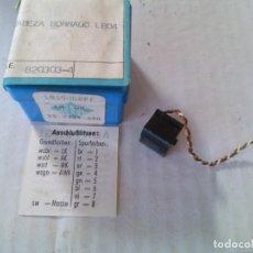 Radios antiguas: CABEZA DE BORRADO MAGNÉTICA TELEFUNKEN MODELO-LB04. CLEAR HEAD MAGNETIC TAPE.. Lote 80904784
