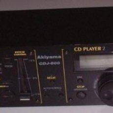 Radios antiguas: PREAMPLIFICADOR AKIYAMA CDJ-600 PANEL DE CONTROL. Lote 81053584