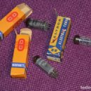 Radios antiguas: VINTAGE - LOTE DE TRES VÁLVULAS - EC92 / HL92 / ECH42 - 3 X RADIO TUBE - ¡¡HAZME UNA OFERTA!!. Lote 147767717