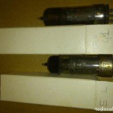 Radios antiguas: 2 VÁLVULAS EL41 PHILIPS MINIWATT - USADAS PROBADAS BUENAS. Lote 85611584