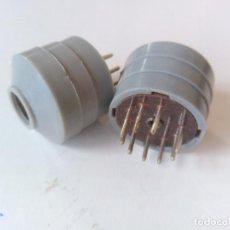 Radios antiguas - Prolongador de valvula a zocalo macho noval 9 pin. X5 UNIDADES. (MÁS LOTES DISPONIBLES) - 86487862