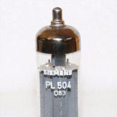Radios antiguas: PL504 - SIEMENS - VALVULA ( ELECTRONIC TUBE ) NO - BOXED . Lote 87022640