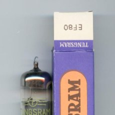Radios antiguas: EF80 TUNGSRAM VALVULA ( ELECTRONIC TUBE ) UNIDAD. Lote 88201172