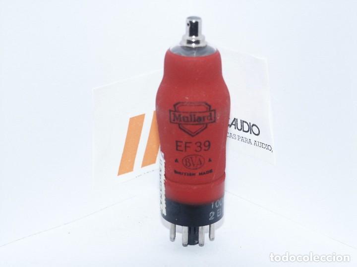 EF39 / MULLARD / VALVULA ( ELECTRONIC TUBE ) UNIDAD (Radios, Gramófonos, Grabadoras y Otros - Repuestos y Lámparas a Válvulas)