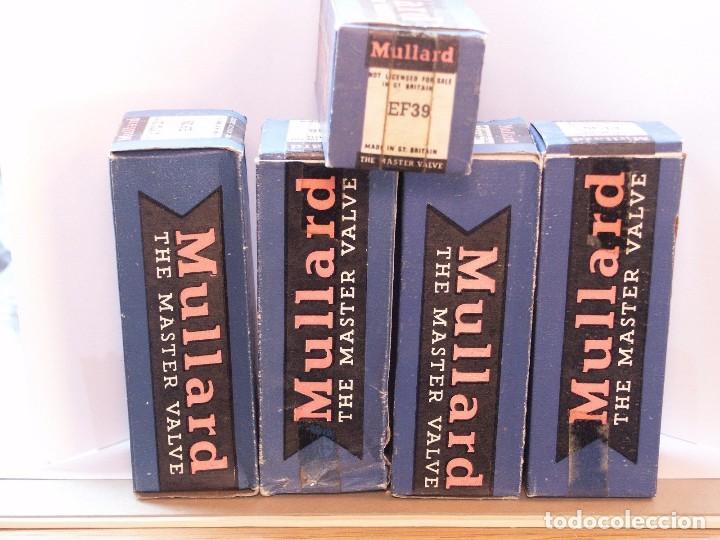 Radios antiguas: EF39 / MULLARD / VALVULA ( ELECTRONIC TUBE ) UNIDAD - Foto 2 - 88583916