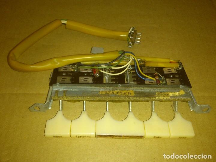 BOTONERA DE TONOS NORDMENDE CARMEN 59 3D (Radios, Gramófonos, Grabadoras y Otros - Repuestos y Lámparas a Válvulas)