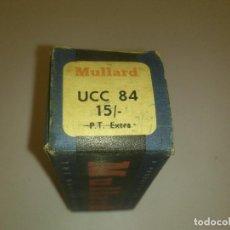 Radios antiguas: VÁLVULA UCC84 MULLARD NUEVA. Lote 89811496