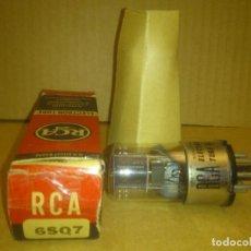 Radios antiguas: VÁLVULA 6SQ7GT RCA NUEVA - DOBLE DIODO TRIODO AUDIOFRECUENCIA. Lote 90072044