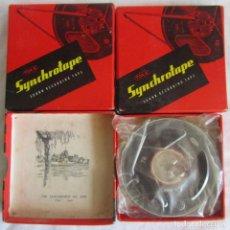 Radios antiguas: 3 CINTAS DE AUDIO SYNCHROTAPE TDK SIN ESTRENAR. Lote 92182555