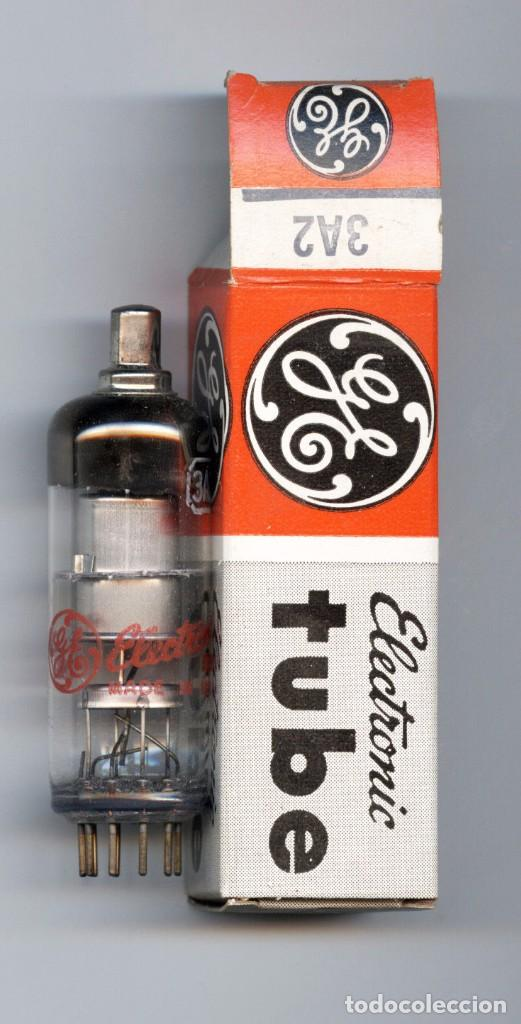 3A2 - GENERAL ELECTRIC VALVULA ( ELECTRONIC TUBE ) ( NOS ) UNIDAD (Radios, Gramófonos, Grabadoras y Otros - Repuestos y Lámparas a Válvulas)