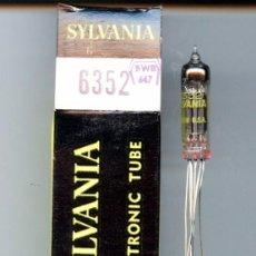 Radios antiguas: 6352 - SYLVANIA VALVULA ( ELECTRONIC TUBE ) NOS . Lote 92870655