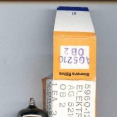 Radios antiguas: 0B2 - SIEMENS VALVULA ( ELECTRONIC TUBE ) NOS EN SU CAJA ORIGINAL. Lote 92894290