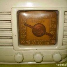 Radios antiguas: BONITA RADIO AMERICANA CROSLEY M¡¡¡FUNCIONA!!!!. Lote 93913560