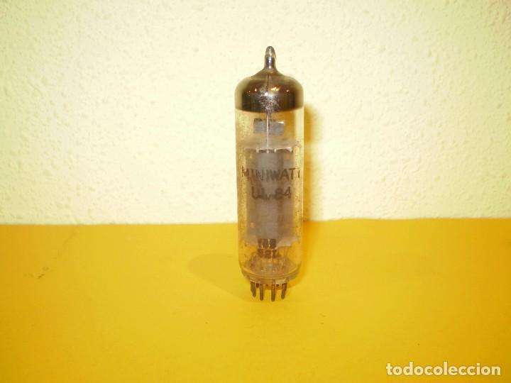 VALVULA UL84-PHILIPS-MINIWATT- USADA TESTADA.. (Radios, Gramófonos, Grabadoras y Otros - Repuestos y Lámparas a Válvulas)