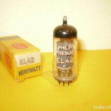 Radios antiguas: VALVULA EL42-MINIWATT-NOS/NIB-TUBE.. Lote 94704039