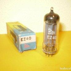Radios antiguas: VALVULA EZ40-POPE-NOS/NIB-TUBE.. Lote 94704095
