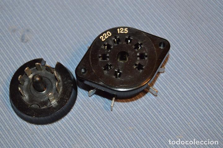 Radios antiguas: Conmutador tensión o voltaje 125/220 - Para radios o amplificadores antiguos de válvulas - Bakelita - Foto 4 - 97035143