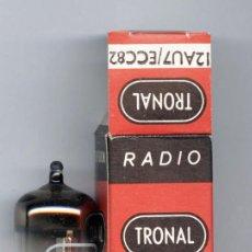 Radios antiguas: ECC82 - TRONAL VALVULA ( TUBE ) LOTE DE 1 VALVULA . Lote 98137403