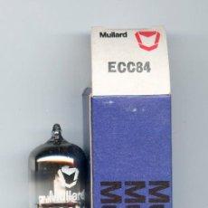 Radios antiguas: ECC84 - MULLARD VALVULA ( TUBE ) LOTE DE 1 VALVULA . Lote 98154599