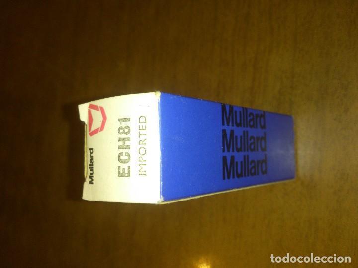 Válvula ech81 mullard - nos - Sold through Direct Sale