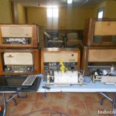 Radios antiguas: DESPIECE DE RADIOS, CARCASAS, BOTONAJE, DIALES. Lote 98842899
