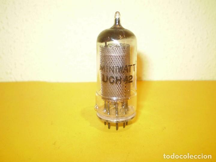 1 X UCH42-MINIWATT - USADA Y TESTADA. (Radios, Gramófonos, Grabadoras y Otros - Repuestos y Lámparas a Válvulas)