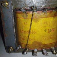Radios antiguas: TRANSFOTMADOR DE RADIO. Lote 100545300