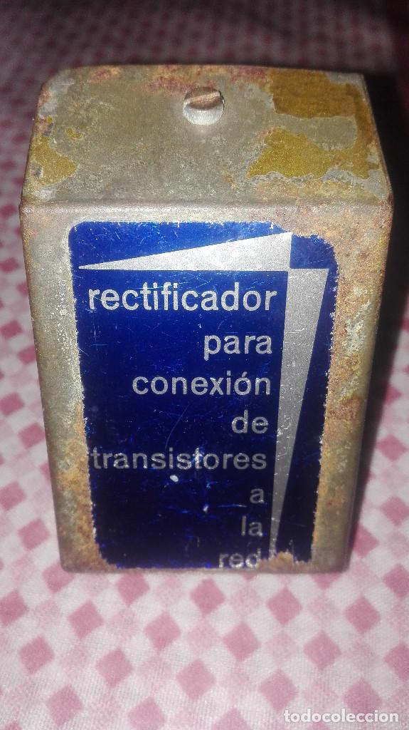 Radios antiguas: elevador-rectificador radio antigua - Foto 2 - 100735927