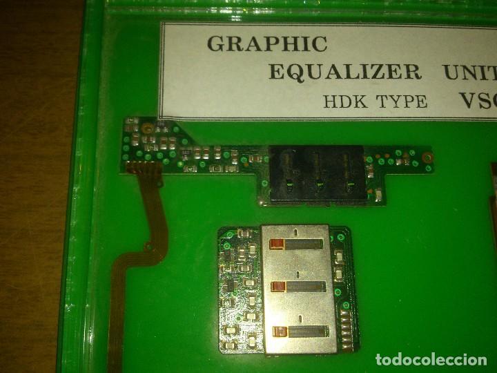 Radios antiguas: Expositor de ecualizadores - Foto 3 - 101849595