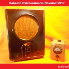 Radios antiguas: KÖRTING VE 301W II GUERRA MUNDIAL (NAZI) ALEMANIA CACASA RADIO DE VALVULAS. Lote 103289015