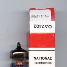 Radios antiguas: QA2403 NATIONAL VALVULA ( ELECTRONIC TUBE ) NOS . Lote 103561403