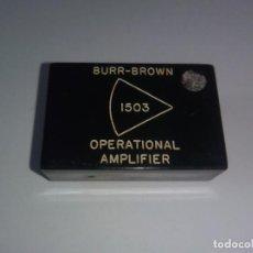 Radios antiguas: BURR BROWN 1503 OPERATIONAL AMPLIFIER.. Lote 103800875