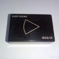 Radios antiguas: BURR BROWN 1503/15 BB OPERATIONAL AMPLIFIER. Lote 103801271
