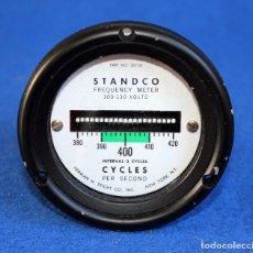 Radios antiguas: FRECUENCIMETRO - HERMAN H STICHT CO. 100 - 130 V 400 HZ NUEVO. Lote 109331651