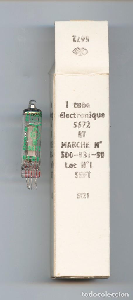 5672 - RT VALVULA MINIATURA ( ELECTRONIC TUBE ) NOS LOTE DE 1 VALVULA (Radios, Gramófonos, Grabadoras y Otros - Repuestos y Lámparas a Válvulas)