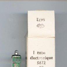 Radios antiguas: 5672 - RT VALVULA MINIATURA ( ELECTRONIC TUBE ) NOS LOTE DE 1 VALVULA. Lote 107278979