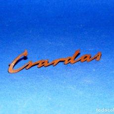 Radios antiguas: LOGOTIPO CSARDAS PARA RADIO ANTIGUA NORA. Lote 107527683