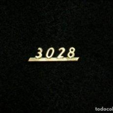 Radios antiguas: LOGOTIPO 3028 PARA RADIO ANTIGUA GRUNDIG.. Lote 107527547