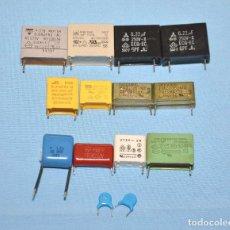 Radios antiguas: CONDENSADORES X2. Lote 107864215
