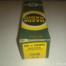 Radios antiguas: VÁLVULA 12N8 - MAZDA - NUEVA. Lote 108986671