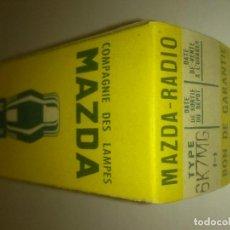 Radios antiguas: VÁLVULA 6K7MG - 6K7 MG - MAZDA - NUEVA. Lote 108986983