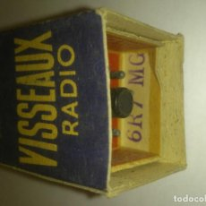 Radios antiguas: VÁLVULA 6R7 MG - 6R7MG - VISSEAUX - NUEVA. Lote 108987159