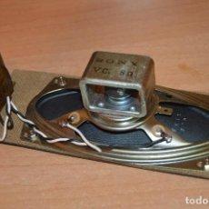 Radios antiguas: ANTIGUO, RARO ALTAVOZ ELÍPTICO SONY 8 OHM CON TRANSFORMADOR - AÑOS 50/60 - FUNCIONANDO - HAZ OFERTA. Lote 109399751
