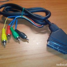 Radios antiguas: CABLE EUROCONECTOR A RCA 2 AUDIO 2 VIDEO. Lote 111066567