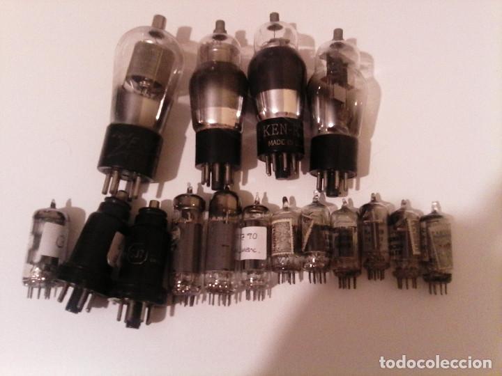 LOTE 16 VÁLVULAS (Radios, Gramófonos, Grabadoras y Otros - Repuestos y Lámparas a Válvulas)
