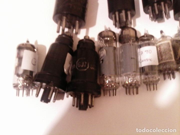 Radios antiguas: LOTE 16 VÁLVULAS - Foto 3 - 111516623