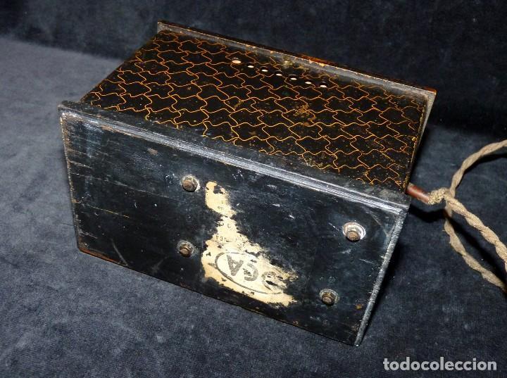 Radios antiguas: ELEVADOR REDUCTOR CON LIMITA TENSIÓN. DCA MOD. D-180. AÑOS 30 - Foto 5 - 111662803
