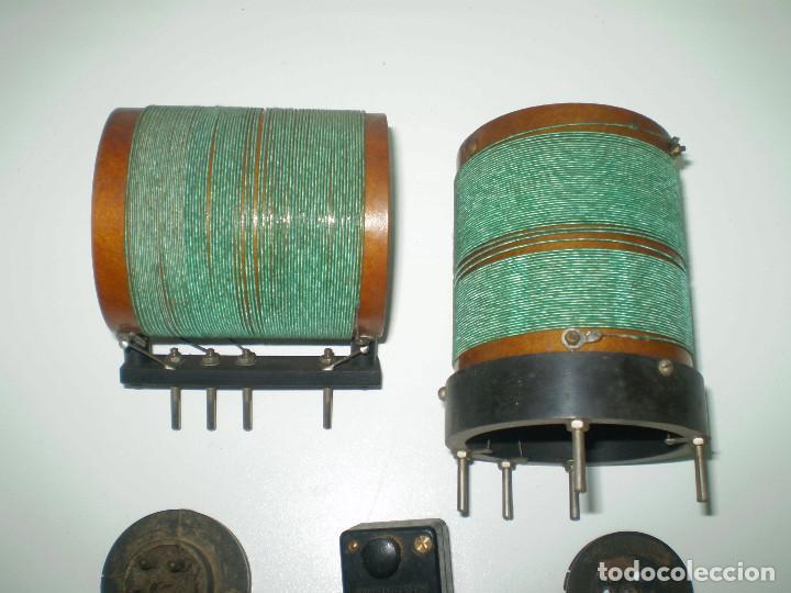7 X ANTIGUAS BOBINAS DE RADIO DE LOS AÑOS 20-LOTE 4 (Radios, Gramófonos, Grabadoras y Otros - Repuestos y Lámparas a Válvulas)